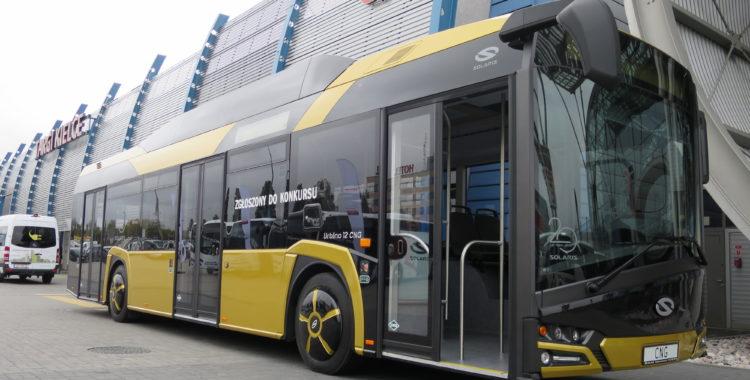 Solaris CNG buss